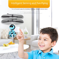 Wholesale nitro toys for sale - Group buy Light Suspension Robot Rechargeable Flying Vehicle Luminous Mini Fly Hand Flashing Induction Kids Aircraft Child Sensing Toy