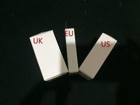 cargador inalámbrico lg g4 al por mayor-AAAA ++ Calidad OEM 5W 5V 1A EE. UU./EU. Enchufe Adaptador de corriente USB Cargador de pared Adaptador de carga A1385 A1400 Con caja al por menor