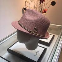 fazendo kentucky derby bonés venda por atacado-Cap chapéu do designer pequeno chapéu ráfia fazendo casquette chapéus gorras balde chapéu gorra snapback casquette de luxo 19 acessórios de moda de luxo