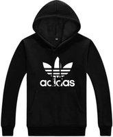 siyah kadınlar kazak toptan satış-YENI MODA Kazak KADıN Hoodies Ceket Giyim Tişörtü Ceketler Kapşonlu Siyah Erkek Ceket PULLOVER ceket AS05