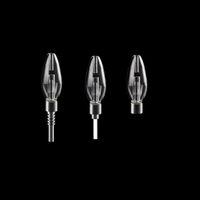 Wholesale detachable bong resale online - NC027 Detachable Glass Pipes Kits With Titanium Nail Quartz Tip Oil Rig Ash Catcher Concentrate Oil Rig Glass Bong