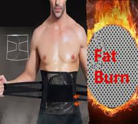 cinto de barriga preto bege venda por atacado-Cinchers da cintura dos homens tummy trimmer belt fazer hot slim body shaper trainer cintura queima de gordura da barriga shapewear cintura treinamento espartilho preto bege