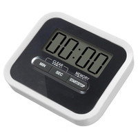 Wholesale up alarm for sale - Group buy 123 Practical Design Digital LCD Large Screen Display Kitchen Timer Magnetic Cooking Baking Count Down Up Loud Alarm Timer