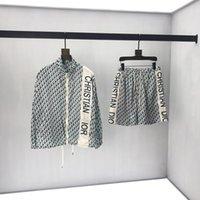 tagging stand großhandel-2019 herren designer Jacken Luxus Italien Full Letter print set Stehkragen jacke Windjacke Männer Frauen Top qualität tag label Neu