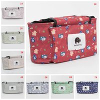 Wholesale baby storage bags for sale - Group buy Print Baby Stroller Bag Waterproof Mummy Bag Bedside Storage Bags Portable Baby Cart Stroller Bags Infant Stroller Accessories VT1656
