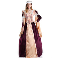Wholesale halloween costume egyptians for sale - Group buy New Sexy Egyptian Queen Costume Cosplay Greek Goddess Stage Performance Game Uniform Club Long Dress