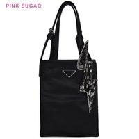 материалы для мешков оптовых-Розовый sugao дизайнер сумка женщины сумки Оксфорд материал сумки небольшой клатч черный цвет завод оптовые продажи