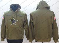 c7da0f357 Wholesale salute service hoodies online - Men s Dallas Sweatshirt Cowboys Hoodie  Olive Salute to Service