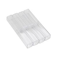Wholesale brow box resale online - Crystal Acrylic Microblading Pen Box Caneta Microblading Tebori Display And Storage Box Brow Manual Tattoo Supplies