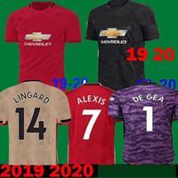 uv t shirts großhandel-2019 Thailand Alexis Pogba Man Fußball-Trikots 2020 Lukaku Rashford Football Kit Vereinigte EA SPORTS Jersey New 18 19 20 T-Shirts Kinder Uniform