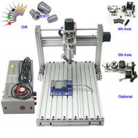 ingrosso torni cnc-Mini fresatrice per incisione CNC 3040 3 assi 4 assi 5 assi CNC 3040