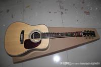 akustik gitar telleri ücretsiz gönderim toptan satış-Ücretsiz kargo Sıcak satış 6 Strings Gitar akustik gitar 41 Inç MAR D45 Elektrik Akustik Gitar