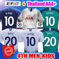 d93268521 2018 KANE Spurs Soccer Jerseys Third 4Th 2019 LAMELA ERIKSEN DELE SON  Jerseys Top Thailand18 19 Football shirt kits Kids CAMISETAS DE FUTBOL