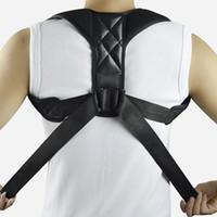 Wholesale massage bandage for sale - Group buy Back Posture Corrector Shoulder Adjustable Brace Support Belt Lumbar Spine Protective Bandage Posture Relaxation Massage Tool