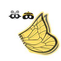мультяшные персонажи детское платье  оптовых-Продвижение Бабочка Крыло Плащ Маска Оголовье Новая Партия Детские Костюмы Творческая Сценическая Одежда Открытый Игры Талисман Стильные Тенденции