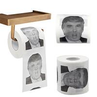 Wholesale trump toilet paper resale online - Donald Trump Toilet Paper Roll President Toilet Paper Roll Novel Gag Gift Prank Joke sytles MMA2185