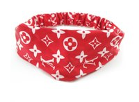 ingrosso fascia di bandana stretch yoga-Donne Stretch Twist Fascia Turbante Sport Yoga Head Wrap Bandana Headwear Accessori per capelli