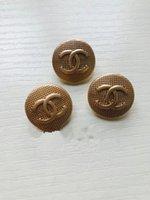 bronze bekleidungszubehör großhandel-Meetee antike Bronzeton runde Harzknöpfe für Mantel DIY Nähen Scrapbooking Handwerk Kleidung Dekoration Frauen Pullover Accessoires