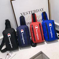 sacos de refrigerador de cor marrom venda por atacado-Maré Marca Oxford Cross Body Moda Ao Ar Livre Esporte Ombro Saco para Mulheres Dos Homens de Alta Qualidade Casal Vermelho Sacos de Corpo Cruz
