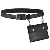 Wholesale mens fanny packs for sale - Group buy Leather Fanny Pack Mens Waist Belt Womens Purse Hip Pouch Travel Sash Bag