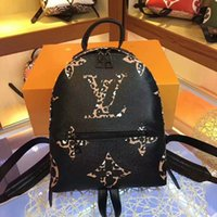 Wholesale new handbag motorcycle for sale - Group buy 2019 New Designer men woman fashion Handbags purse letter Shoulder bag Stitching color Classic design man and woman packsack travel bag