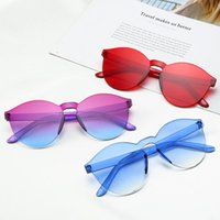 Wholesale colorful eye glass frames for sale - Group buy Top Quality New Fashion lovers Sunglasses For Man Woman Eyewear Designer Brand Sun Glasses Gold Frame Light Pink Colorful Lens PC