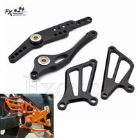 Wholesale yamaha motorcycle brakes for sale - Group buy CNC Adjustable Aluminum Motorcycle Rearset Foot Peg Brake Gear Shift Shifter Lever Wing For Yamaha YZF R1