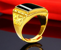Wholesale sanding brass for sale - Group buy 2019 Brass plated with sand gold adjustable ring Gold plated ring for men ring