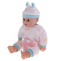 Wholesale toddler reborn resale online - Realistic Christmas Baby Doll inch American Reborn Infant Baby Doll Newborn Toddler Doll Model Pregnant Learning Toy