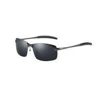 Óculos De Sol Dos Homens Polarizados Óculos De Sol Vermelho Designer De  Diamante Ocasional Óculos de Visão Noturna Afoue Aviador De Luxo Piloto Do  Vintage 00eb72b7b4
