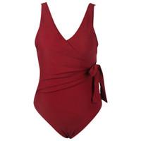 einen einteiligen badeanzug öffnen großhandel-Frauen-Bikini-Sommer-reizvolle Fest Farbe Badebekleidung heißen Verkauf-einteiliger Badeanzug Open Back Female Fashion Schwimmkleidung