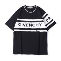 Wholesale new tshirts resale online - New Brand Summer T Shirts for Men Luxury Tshirts With Embroidery Letters Fashion Men s tops Clothing Four Color S XL