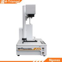 Wholesale marking printer for sale - Group buy M Triangel MGONES W Fiber Laser Engraver DIY Logo Mark Printer Cutter Laser Engraving Machine Mobile phone Back Glass Remover
