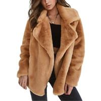 productos de imitación al por mayor-Moda para mujer Abrigo de piel gruesa Imitación Corderos Abrigo de invierno de lana Nuevo producto Engrosamiento Mantener la chaqueta de invierno cálido Garantía de calidad