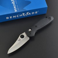 Wholesale Benchmade BM mini AXIS folding knife C sharp blade FRN handle resuce camping knife outdoor EDC tool