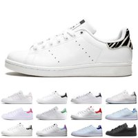 Wholesale stan smith women shoes for sale - Group buy 2020 Sale Stan Smith Spring Copper White Pink Black Fashion Shoe Man Casual Leather brand woman mens shoes Flats Sneakers