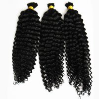 Wholesale indian ombre braiding hair for sale - Group buy 10 Inch Human Braiding Hair Bulk No Weft Human Braiding Bulk afro kinky curly g No Weft Human Hair Bundles
