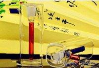 buzlu su şişeleri toptan satış-Kare İç bükey Su Şişesi, Toptan Bongs Yağ Brülör Boruları Su Cam Boru Petrol Kuyuları Sigara Ücretsiz Kargo