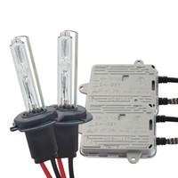 h7 лампа 55w оптовых-High Bright AC 55W Xenon Kit Балласт + лампа 55W 10000LM H1 H3 H7 H8 H9 H11 9005 9006 Противотуманные фары