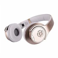 nfc kopfhörer großhandel-MH1 Bluetooth Drahtloser Kopfhörer Externes Sound Headset Stereo Headset Lautsprecher 2 in 1 NFC TF Karte