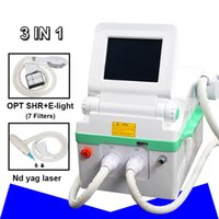 Wholesale laser hair removal salon resale online - opt shr hair removal ipl facial hair removal laser treatment nd yag laser tattoo removal machine price beauty salon machine price