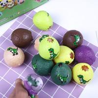 bolas de goma para aliviar el estrés al por mayor-Dinosaur Egg Squeeze Dragon Ball Venting Toy Novedad de goma Bolas de ventilación Calmante para el estrés Gadgets divertidos juguetes para niños