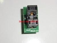 msop8 ic al por mayor-Envío gratuito MSOP8 a DIP8 MCU Prueba IC socket Programador adaptador Socket