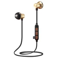 Wholesale headphones wireless dhl free shipping resale online - 2019 New Cross border exclusive M12 wireless sports Bluetooth headset Running Metal magnetic card MP3 music headphones DHL