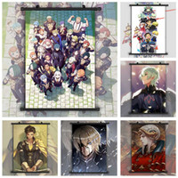 Wholesale house wall posters for sale - Group buy Fire Emblem Three Houses Byleth Edelgard Claude Dimitri Sothisu Anime manga wall Poster Scroll