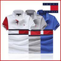 ingrosso magliette spandex in vendita-2019hot vendita cotone New Mens Summer Tees Taglie forti T-shirt manica corta T-shirt in cotone stampato da uomo Designer Abbigliamento S-3XL.