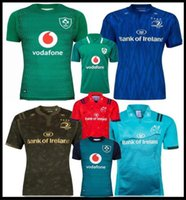 32d651aba5f 18 19 Ireland rugby Jerseys Irish IRFU NRL Munster city Rugby League Leinster  alternate jersey 2018 2019 2020 ulster Irishman shirts