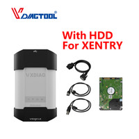 Wholesale xentry diagnostic tool resale online - VXDIAG Diagnostic Tool For Key Programmer STAR Diagnostic SD Connect C4 C5 C6 OBD2 Scanner With HDD For XENTRY DAS EPC DOIP