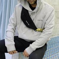 erkek vücut kalça toptan satış-19SS OW Çapraz Vücut Kalça Eğimli omuz çantası Unisex Fanny Paketi Bel Çantası Erkekler Tuval kapalı Çanta ücretsiz gemi