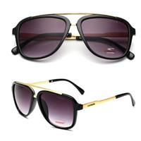 rafine kadınlar toptan satış-Yaz 2019 new tasarımcı kadın güneş gözlüğü rafine tam kare uv güneş gözlüğü moda erkek ve kadın güneş gözlüğü